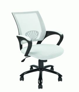 New Black Red White Ergonomic Mesh Computer Office Desk Task Chair w Metal Base