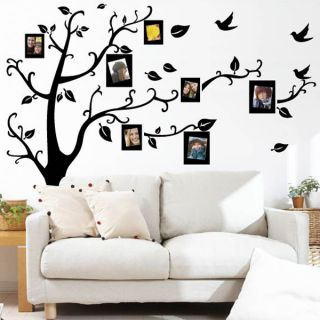Tree Silhouette Photos Wall Sticker Decal