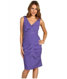Nicole Miller Satin Crepe Puff Sleeve Dress $99.99 (  MSRP $
