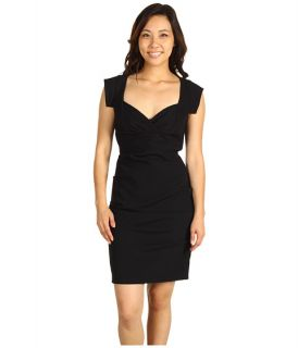 Nicole Miller Satin Crepe Cap Sleeve Dress $115.50 (  MSRP $