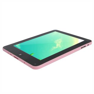 "8"" VIA8650 Mid Android 2 2 WiFi 3G Tablet PC Pink USB 2 0 Keyboard Case Bundle"