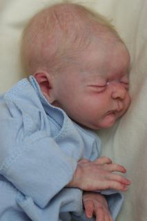 Preemie Reborn Baby Boy Doll Bean New Michael by Laura Lee Eagles