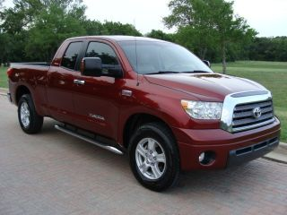 2007 Toyota Tundra Double Cab 5 7L Limited Leather Heated Seats One Owner Carfax