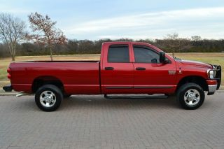 2007 Dodge RAM 2500HD Quad Cab SLT 4x4 5 9L Cummins Diesel Carfax Texas Hwy Mile