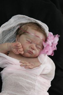 Newborn Reborn Baby Girl Doll Jayden by Natalie Scholl LD Sold Out Kit