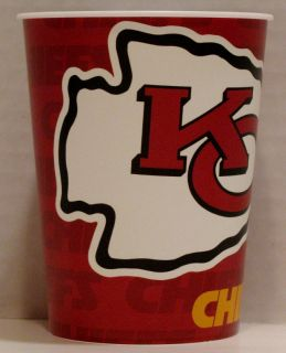 24 Kansas City Chiefs NFL Party 16 oz Plastic Cups Hallmark