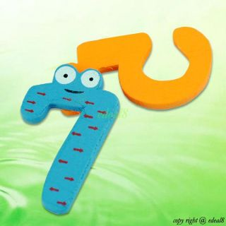 Set 10 Number Refrigerator Fridge Magnets Educational