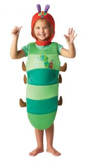 The Very Hungry Caterpillar Kids Book Week Child Fancy Dress Costume Age 2 3 4
