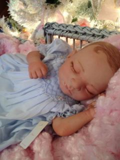 Baby Elizabeth Anne Beautiful Reborn Preemie Baby Girl Art Doll Hand Painted