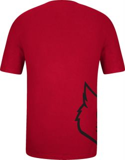 Louisville Cardinals Adidas Getting Big Wrap Around Logo T Shirt