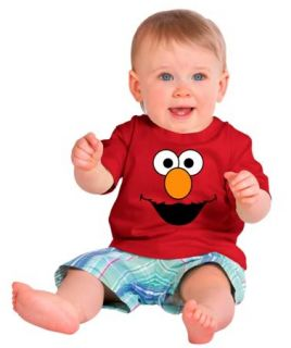 Sesame Street Elmo Infant Toddler T Shirt All Sizes 6mos to 4Toddler