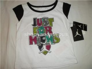 Nike Air Jordan Baby Girls Shirt Shorts Skirt Outfit Clothes Set Sz 12M 12 M