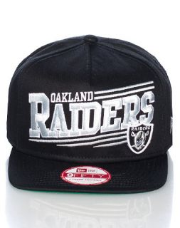 New Era Oakland Raiders NFL A Frame Snapback Cap