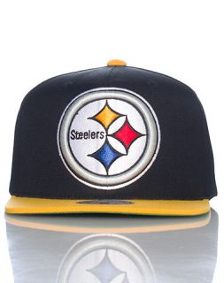 Mitchell and Ness Pittsburgh Steelers NFL Snapback Cap