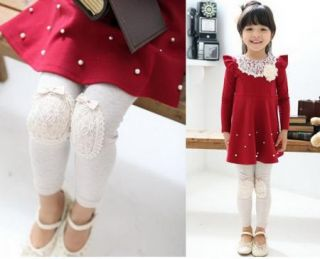 Girl Kids Leggings Pants Cotton Trousers Baby Clothes Tights Toddler 2013 Design