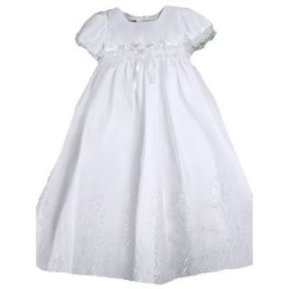Beautiful Baby Girls Embroidered Christening Boutique Dress Set s Square