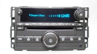 07 08 Chevrolet Chevy Cobalt Pontiac G5 G 5 Radio Aux  MP 3 6 Disc CD Changer