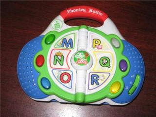 Leap Frog Phonics Radio Game Alphabet ABC Letters Learning Educational Toy