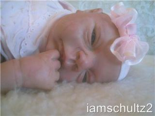 "Precious Lifelike Life Size 20"" Finished Reborn Newborn Baby Doll"