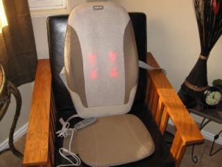 Homedics MCS 370H Cushion Massager Dual Shiatsu Heat Chair Massager Fantastic