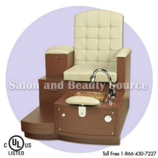 Pedicure Unit Foot Spa Pedi Bench Mani Paris Single