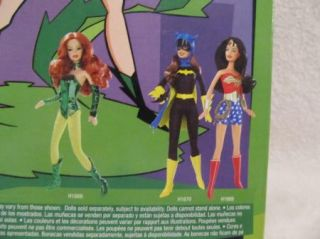 Poison Ivy Barbie DC Comics H1668 Super Hero Doll High Heel Boots Lunch Box