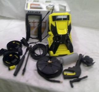 Karcher x Series Water Cooled Motor 2000 PSI Electric Pressure Washer