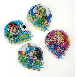 Happy Birthday Party Supplies Favors Ideas Mini Sport Pinball Pachinko Game 12pk