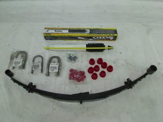 "Rugged Ridge 18415 20 ORV 2"" 2 5"" Suspension Lift Kit with Shocks for 87 95 YJ"