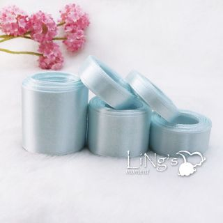 Blue Series Multiple Sizes Satin Ribbon Wedding Party Favor Decoration Bow Gift
