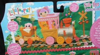 Mini Lalaloopsy Silly Pet Parade Motorized Train Engine Car Pig New