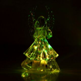 Color Changing Angel LED Light Night Lamp Christmas Decoration Gift R1
