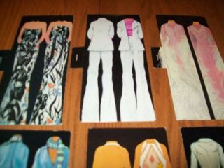 Lot of 6 Dolls 5 Barbies and 1 Cher Doll with Magic Mirror Dress Cards 6