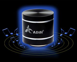 Adin Mini USB SD Card Portable HiFi Bass Stereo Speaker for iPhone 5 4S Samsung