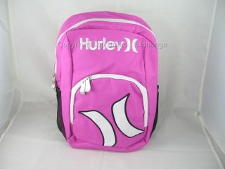 Hurley Kids Toddler Backpack School Bag Blue or Pink Boys Girls