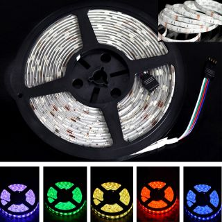 500CM RGB 5050 SMD 150 300 LED Light Strip 12V IR Remote Control IP65 Waterproof