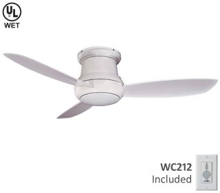 "Minka Aire 52"" Concept II F574 WH White Outdoor Fan"