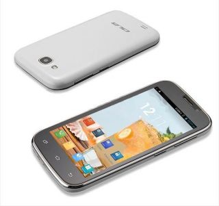 Android 4 1 Cell Phone Dual Sim Touch Screen 4 5'' Mobile GSM Ola Ultra BL White