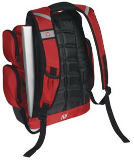 "New 30"" Rolling Duffel Bag 15 4"" Laptop Backpack Combo Red Ful Luggage Set"