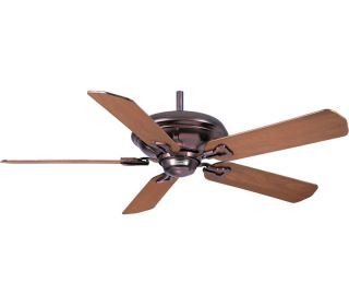 "Casablanca 9532Z Brescia Copper 52"" Ceiling Fan w Wall Control BB21 WD Blades"