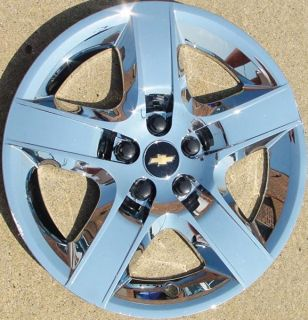 "'08 12 Chevrolet Malibu Lt 3277 17"" Chrome Hubcap Wheel Cover Part 09596921"