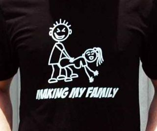 Tshirt Making My Family Anti My Stick Figure Family PARODY Shirt Like Sticker