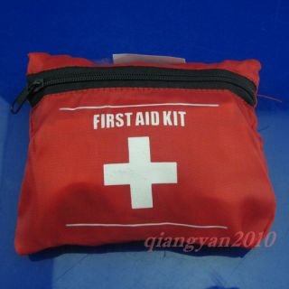 First Aid Kit Emergency Ambulance Medical Bag Outdoor Travel Sport Camping Y8