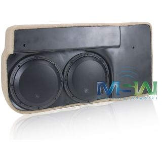 JL Audio SB GM SLVCC 10W3V3 TN Stealthbox® Chevy Silverado GMC Sierra 07 94156