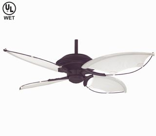 "Hunter 54"" Beachside Bronze Outdoor Ceiling Fan 21191"