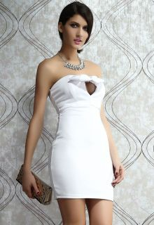 Women's Mini Dress Short Sexy White Cocktail Dress Clubwear Ladies Dress