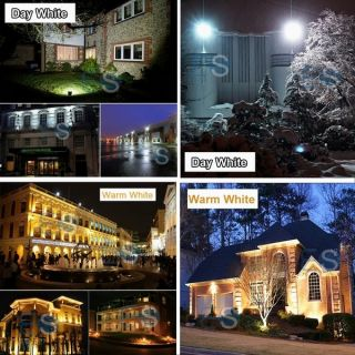 10W 20W LED Floodlights Classic PIR RGB Garden SMD Waterproof Flood Light Sensor