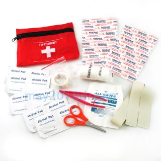 First Aid Kit for Outdoor Activity Camping Trip Emergency Ambulance Medical Bag