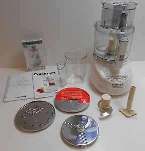 Cuisinart Powerprep Plus 14 Cup Food Processor in Open Box w Manuals Works