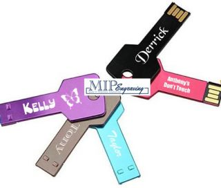 Engraved 4GB 4 GB Key USB 2 0 Flash Memory Stick Drive